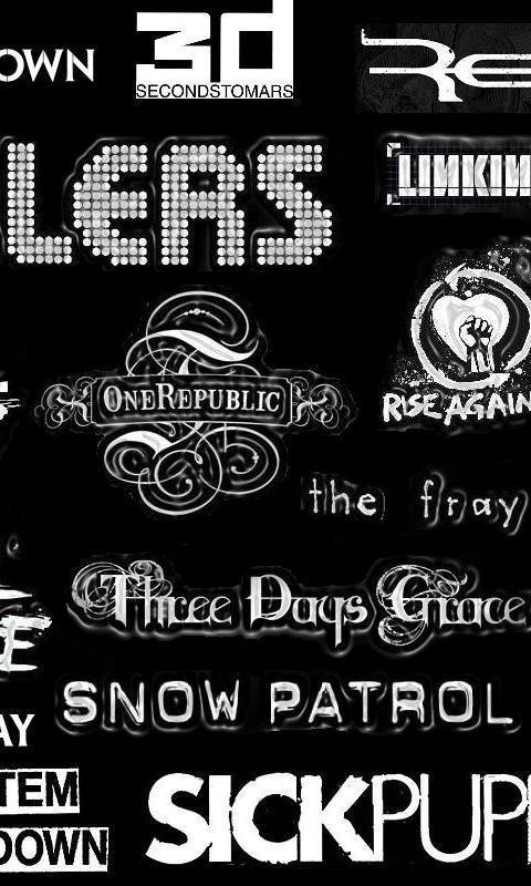 Breaking Benjamin Fray Bands Foo Fighters Shinedown Wallpaper 38401 480x800