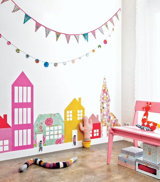 wallpaper housesplayroom Kids Pinterest 550x623