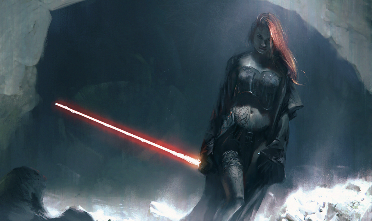 Free Download Geek Art Gallery Concept Art Star Wars Girls