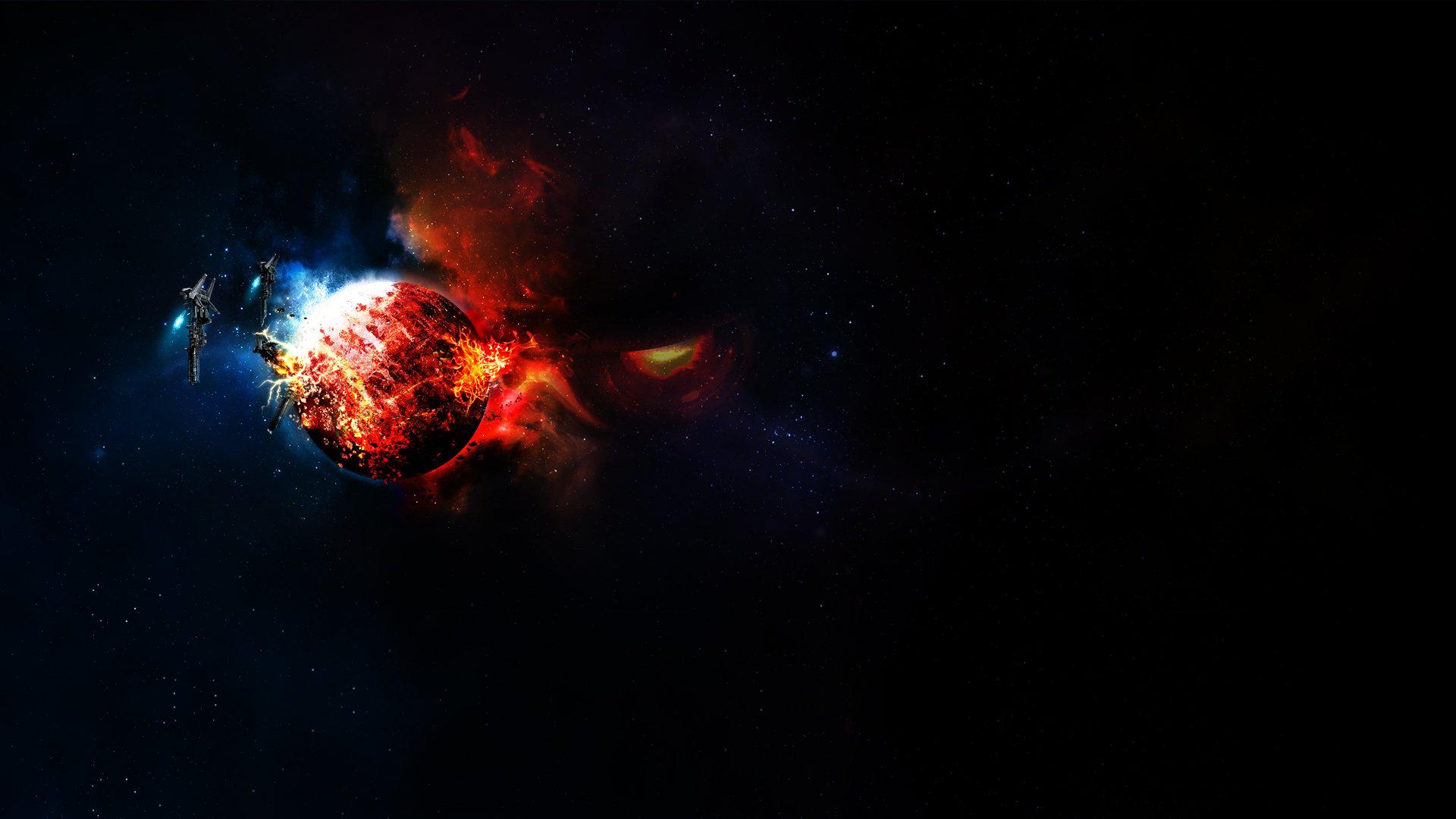 Space War wallpaper 26762 1920x1080