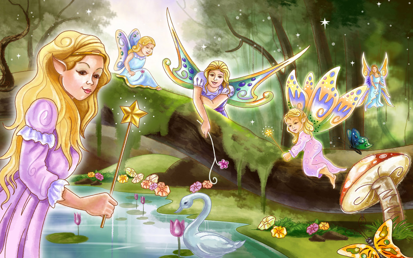 Fairy tale world wallpaper Wallpapers   HD Wallpapers 89082 1440x900