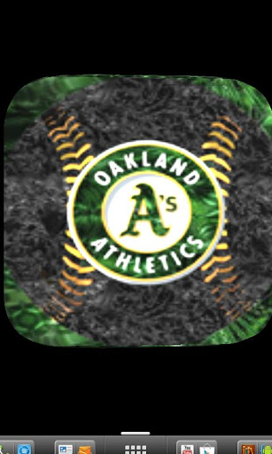 Logo 3d Oakland Athletics Live Wallpaper Background Saves 307x512