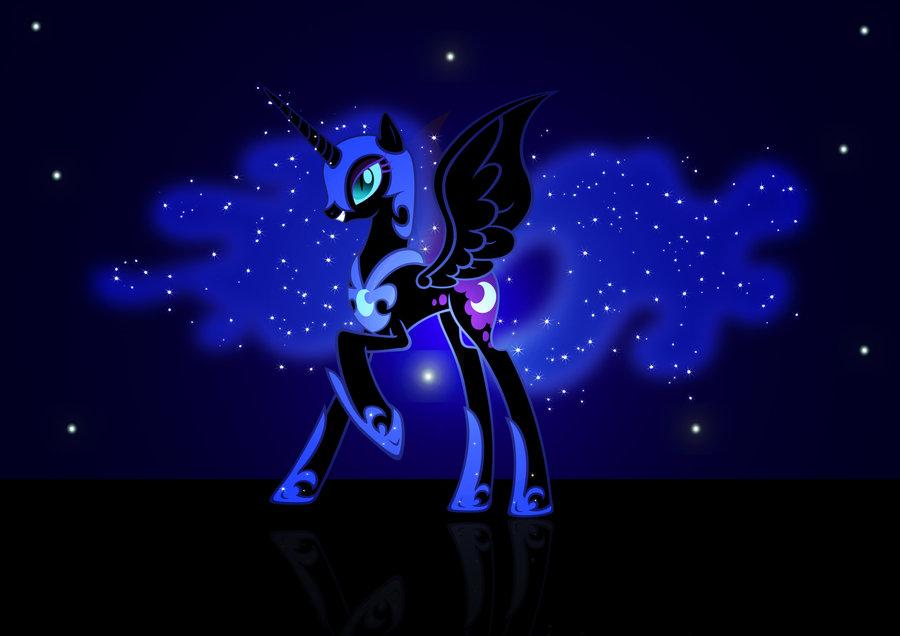 DeviantArt More Artists Like Nightmare Moon Wallpaper by Ayasin 900x636