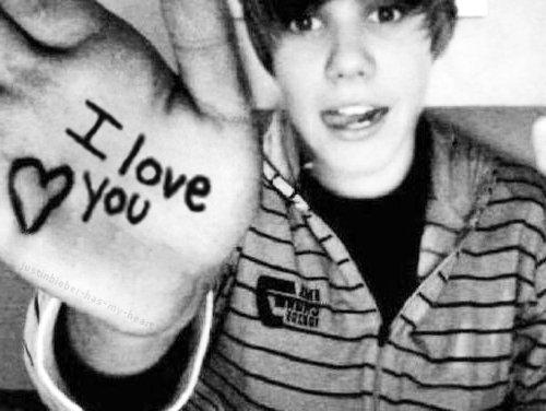 I Love Justin Bieber Wallpaper - WallpaperSafari