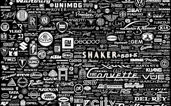 Here is the complete list of car companies and their logos from around 600x374