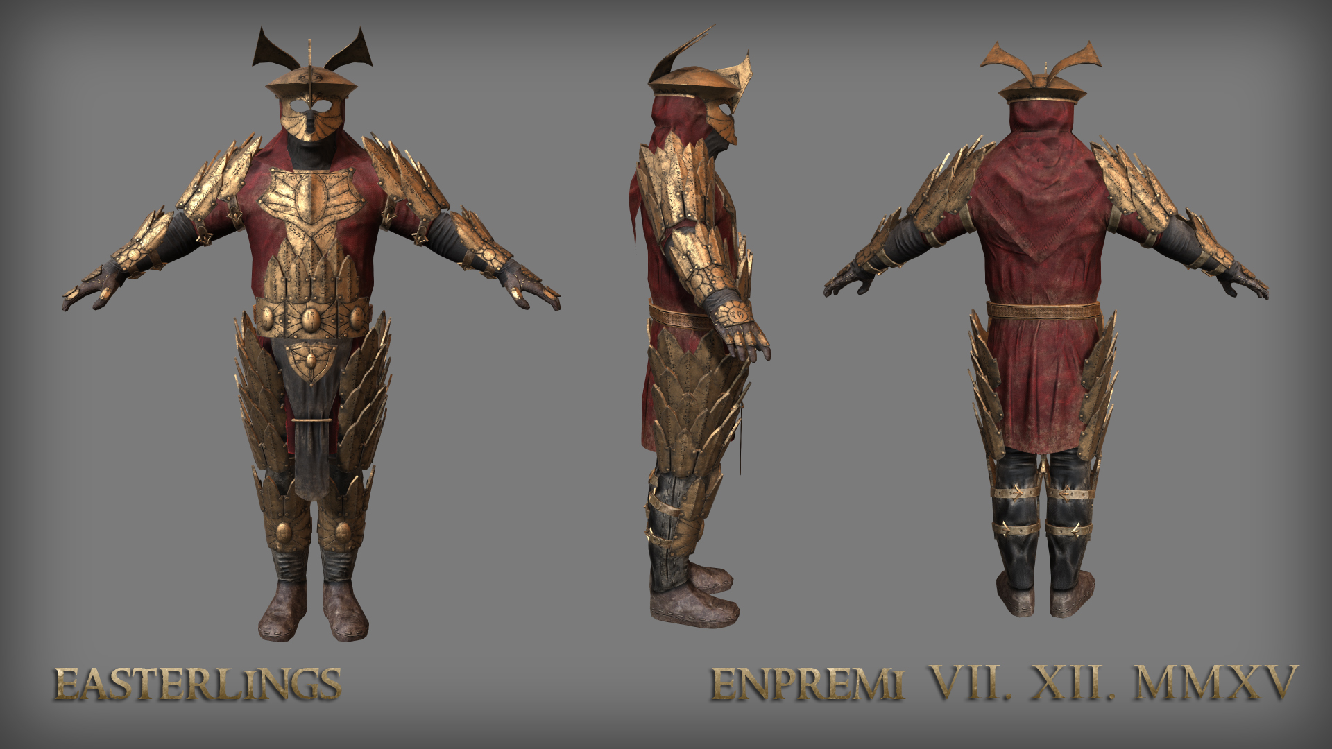 Easterlings Armour image   Total War Rise of Mordor mod for 1920x1080