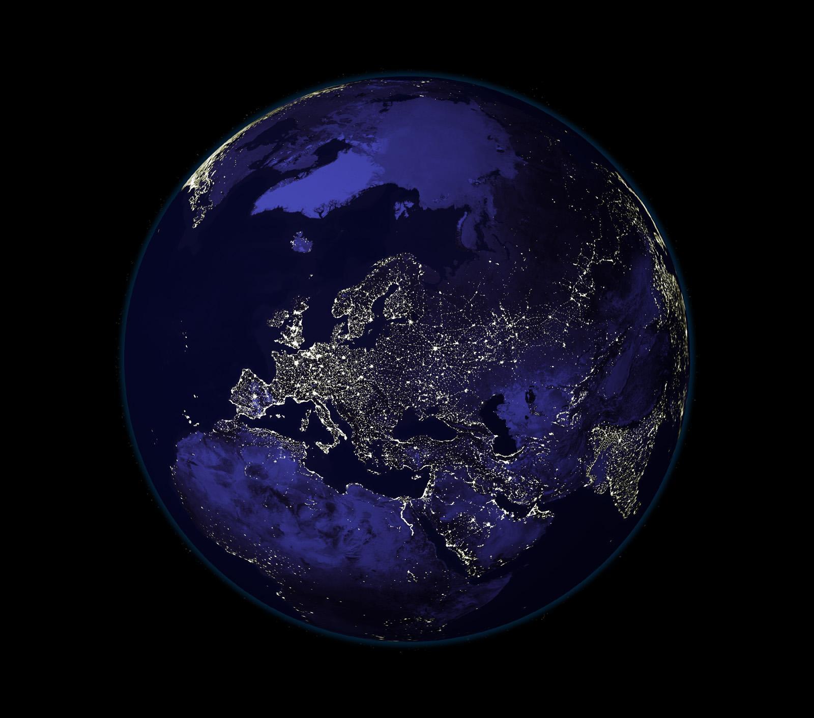 EARTH AT NIGHT WALLPAPER   34624   HD Wallpapers   [desktopinHQnet 1600x1412