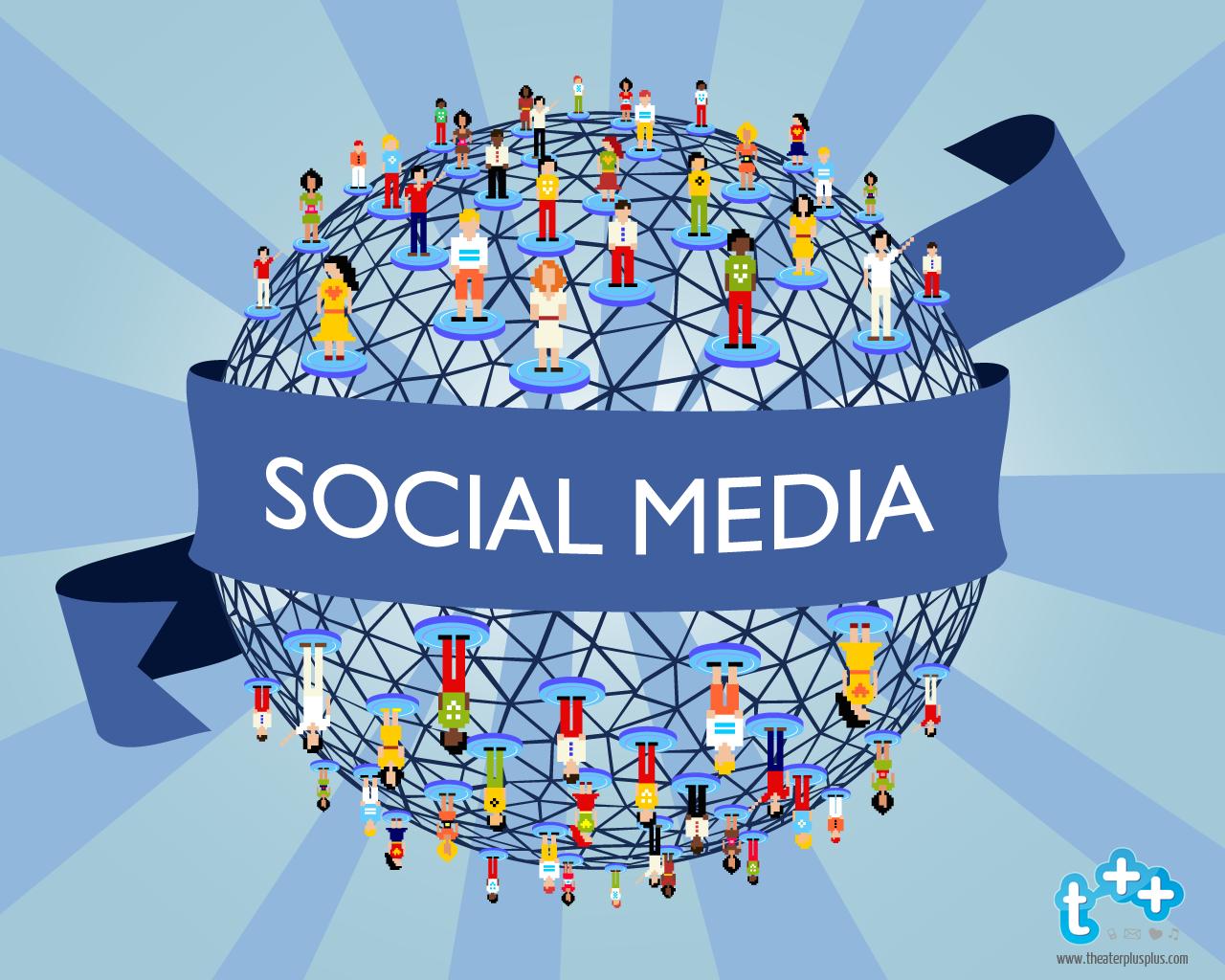 World Of Social Media Wallpaper Desktop 20441 Wallpaper 1280x1024