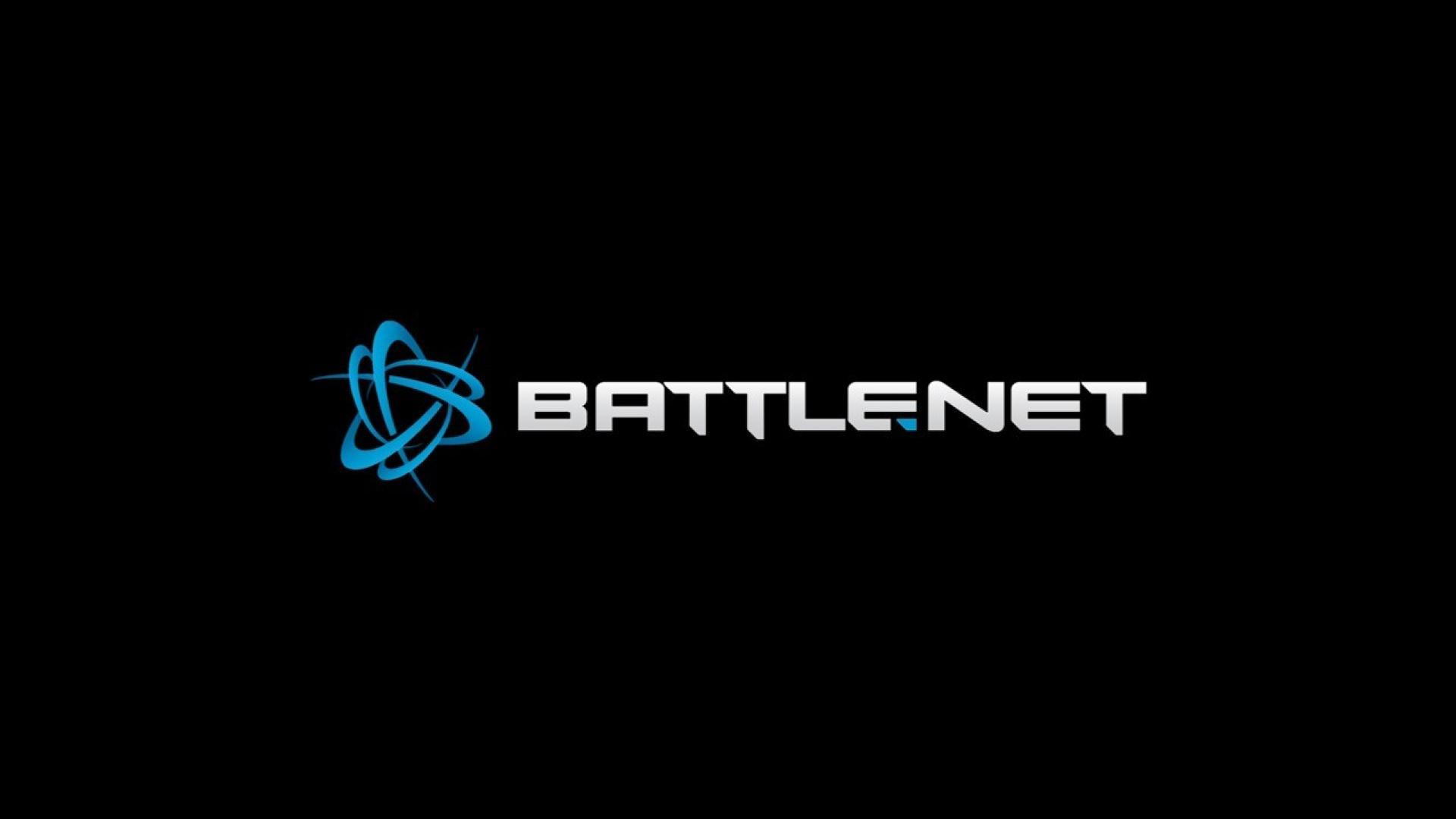 Blue black internet white blizzard entertainment battlenet wallpaper 1920x1080