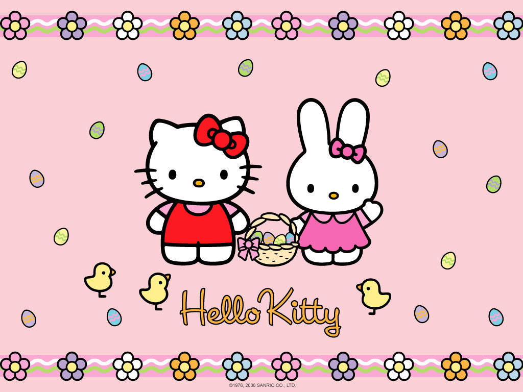Download Wallpaper Hello Kitty Floral - tQTjib  You Should Have_553751.jpg