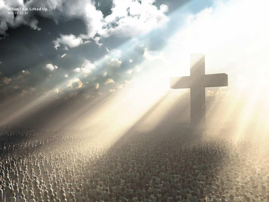 Red Wallpaper Jesus Christ Wallpaper Cross Christianity Backgrounds 1024x768