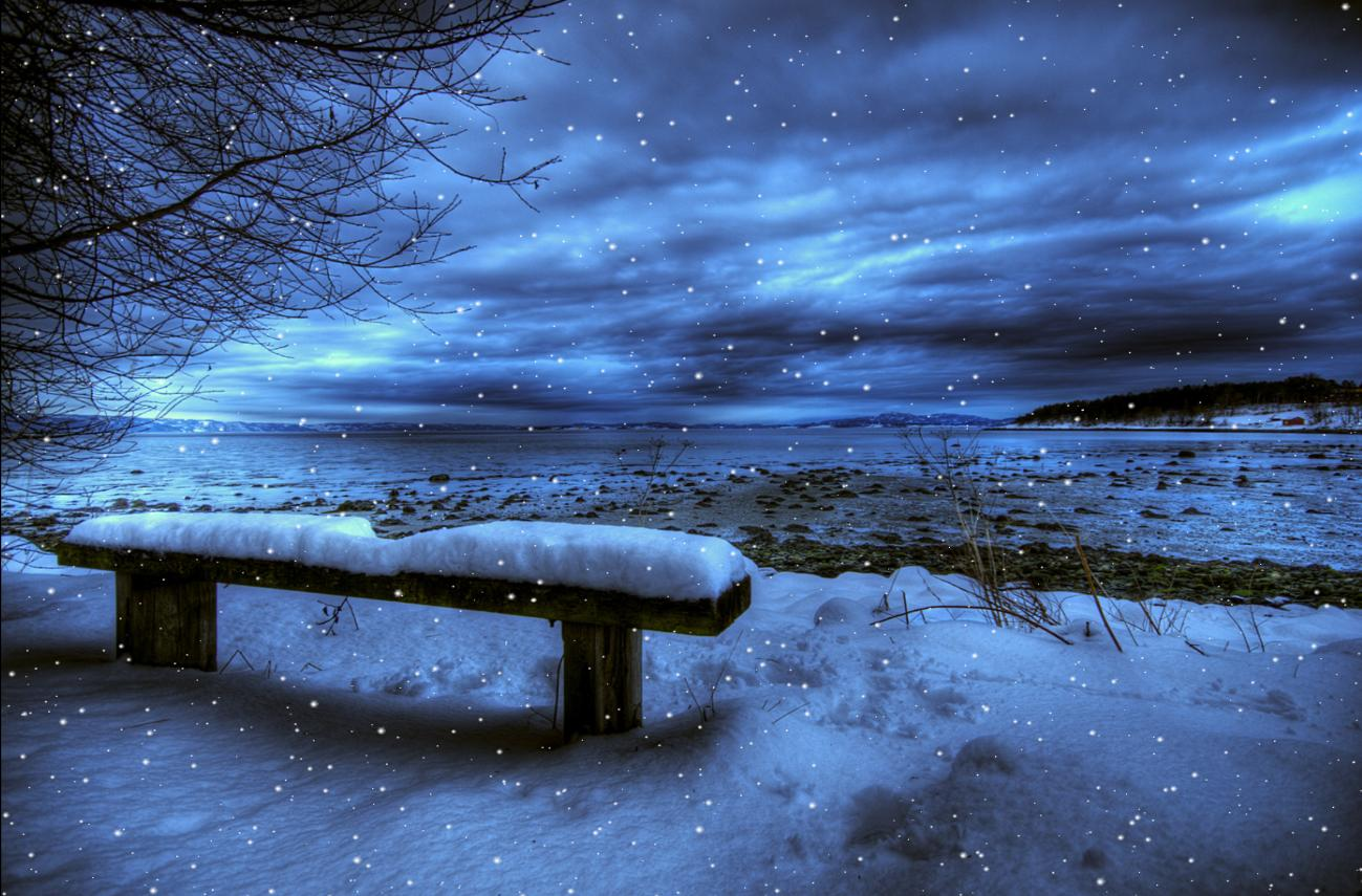 Cold Winter Animated Wallpaper bring to your computer screen amazing 1299x855
