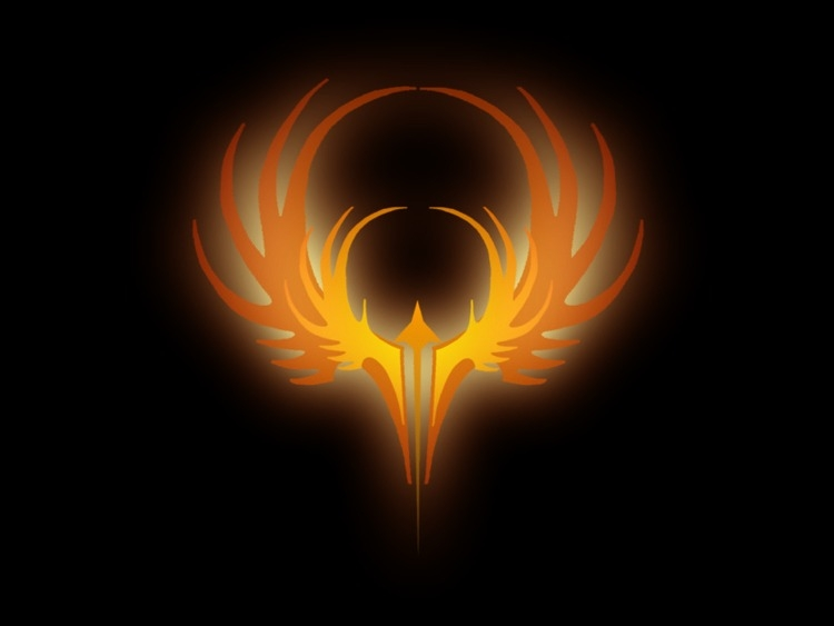 Феникс на аву