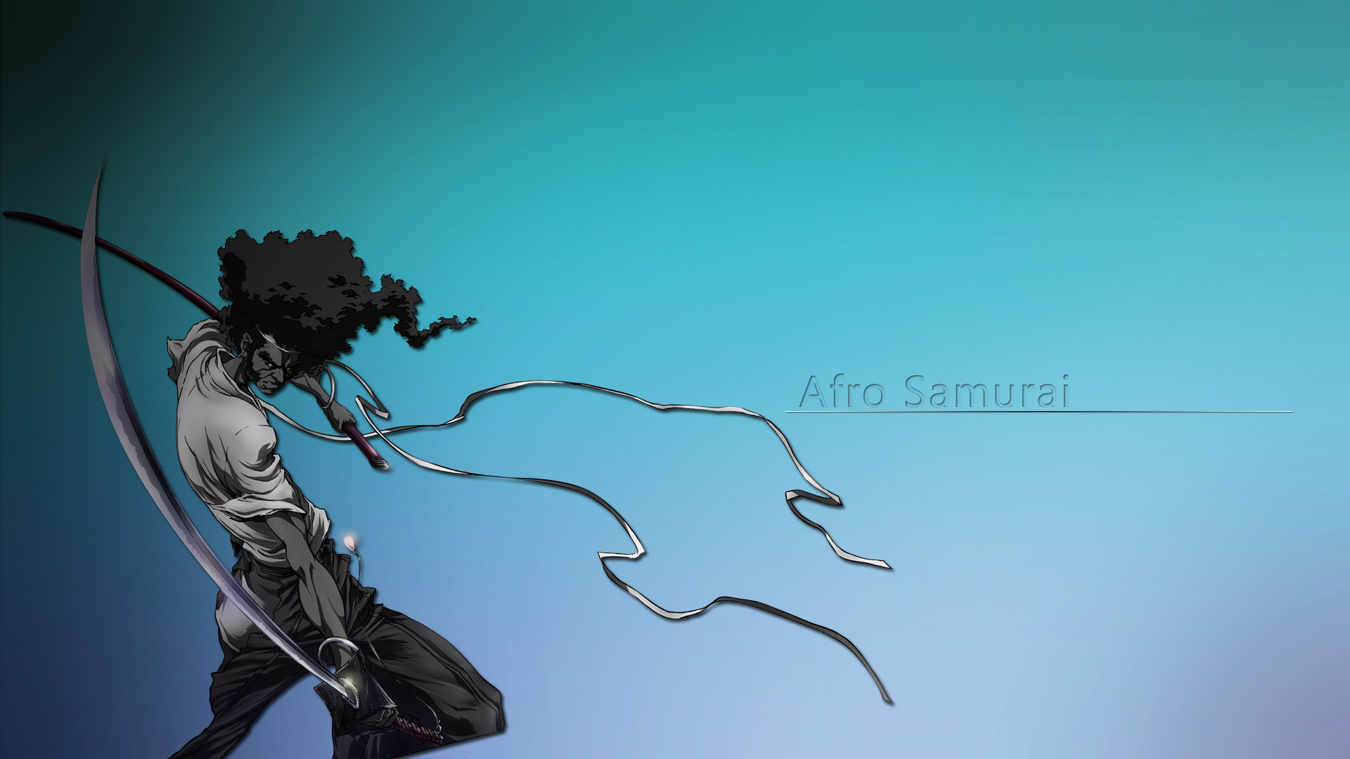Afro Samurai Wallpaper Hd wallpaper   715131 1920x1080