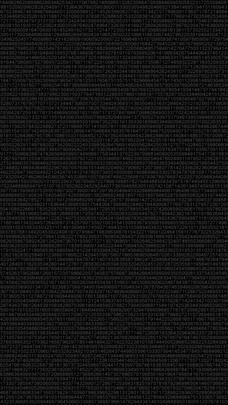 Digital Simple Dark Background iPhone 6 Wallpaper iPod Wallpaper HD 750x1334