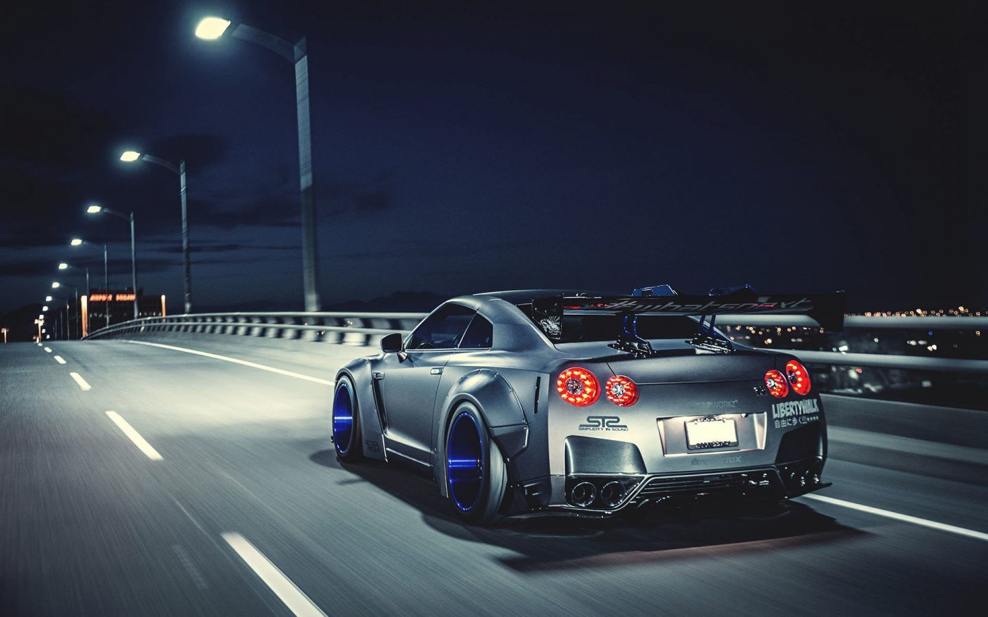 Nissan Skyline GTR Carbon Fiber HD wallpapers Collection 1440x900