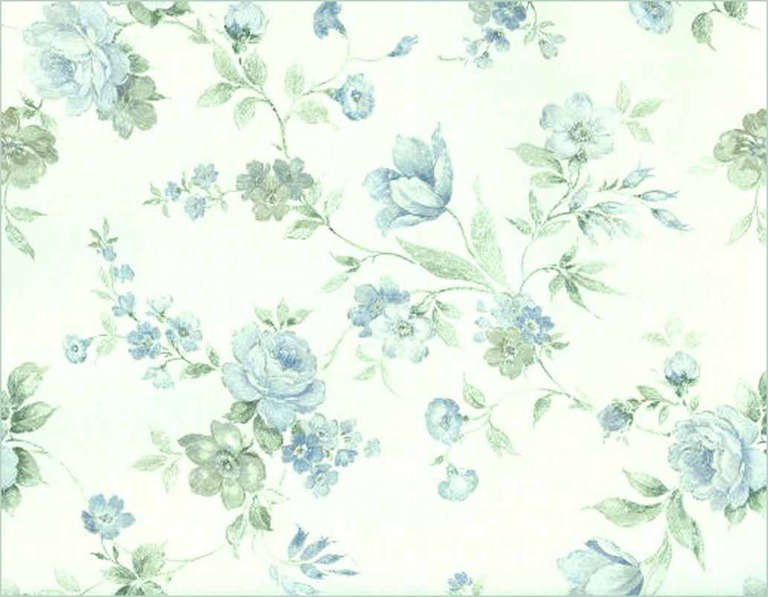 Blue and White Floral by Beinspyred 768x597