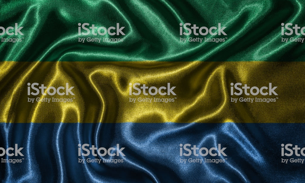 Wallpaper By Gabon Flag And Waving Flag By Fabric Stock Photo 1024x615
