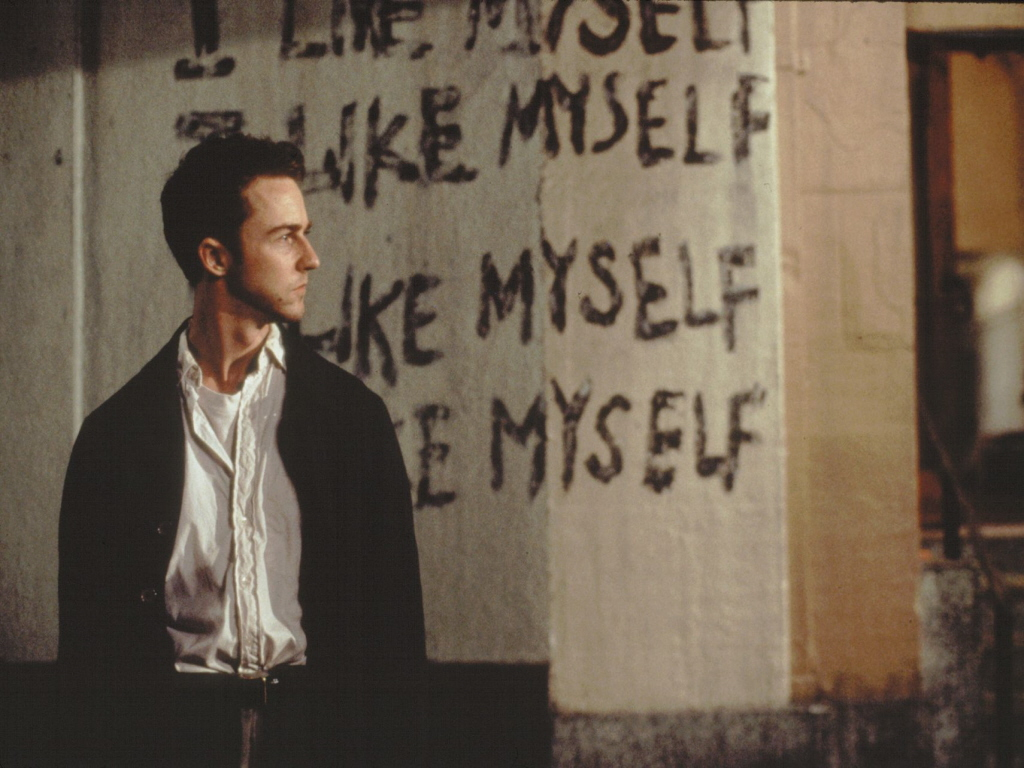 Fight Club   Edward Norton Wallpaper 147676 1024x768