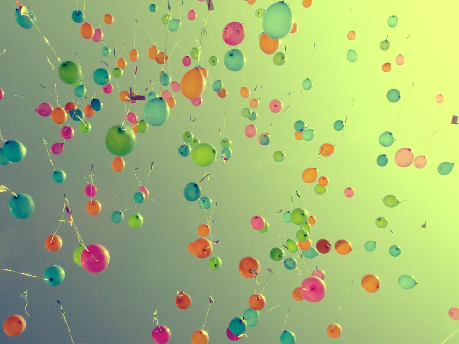 Wallpaper Ballons by TwizzlerForever 900x675
