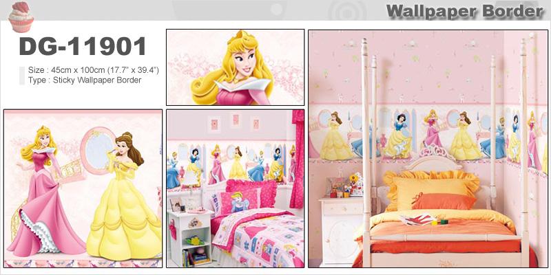 about Kids Wallpaper Border Beautiful Design Girls Children Room 800x400