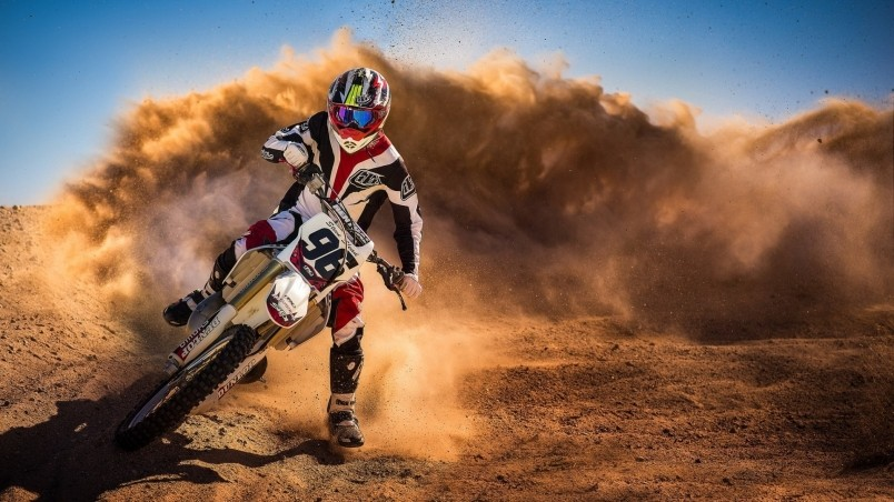 Motocross Racing HD Wallpaper   WallpaperFX 804x452