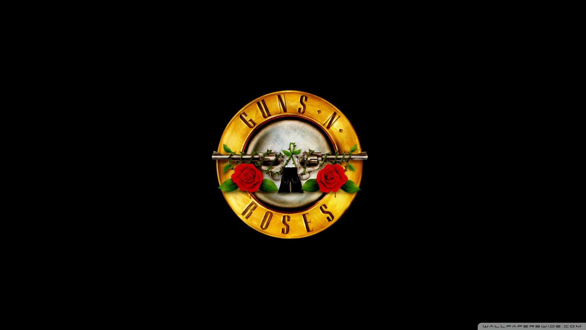 Download Guns N Roses Logo Hd Wallpaper 1920x1080 1920x1080
