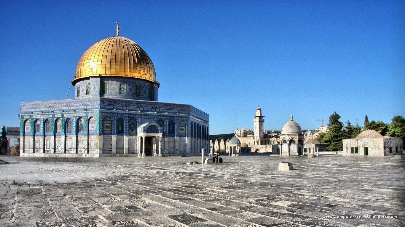 Jerusalem Wallpapers and Background Images   stmednet 1366x768