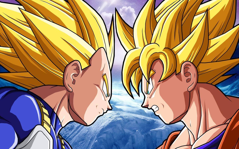 Goku Vs Vegeta   Dragonball Z anime Wallpaper 1440x900