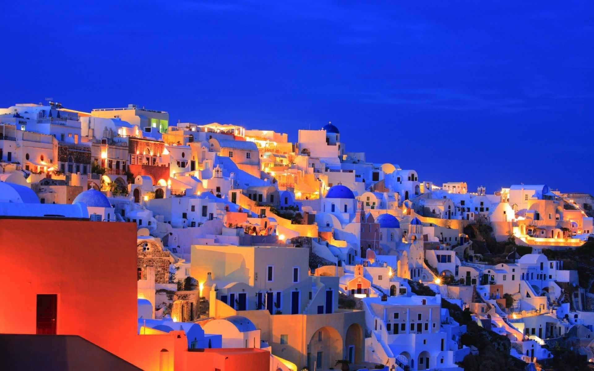 62 Santorini HD Wallpapers Background Images 1920x1200