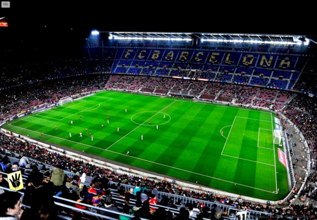 Camp Nou Evening Barcelona Wallpaper Mega Wallpapers 1108x769