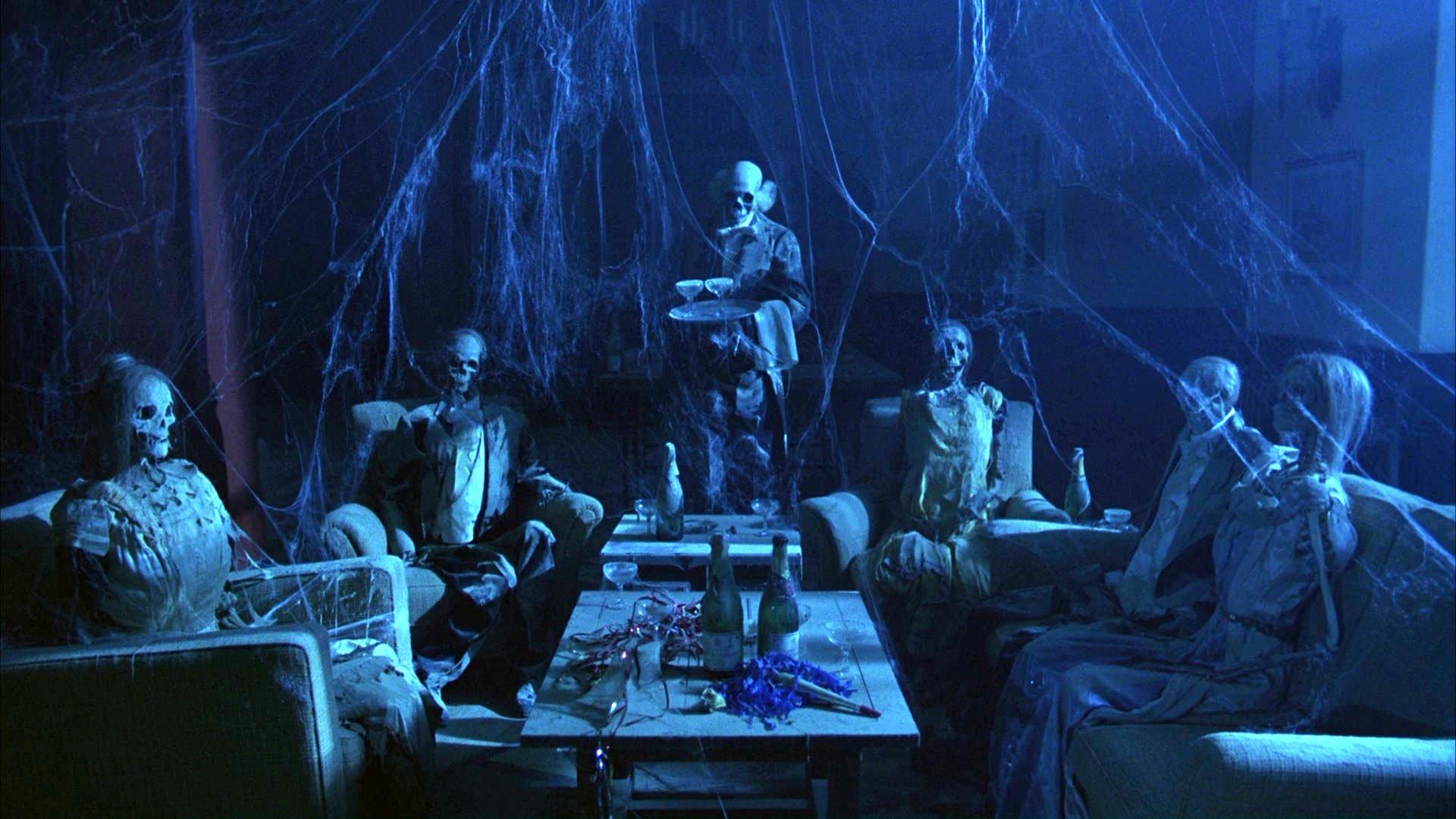 THE SHINING horror thriller dark movie film classic skeleton graveyard 1920x1080