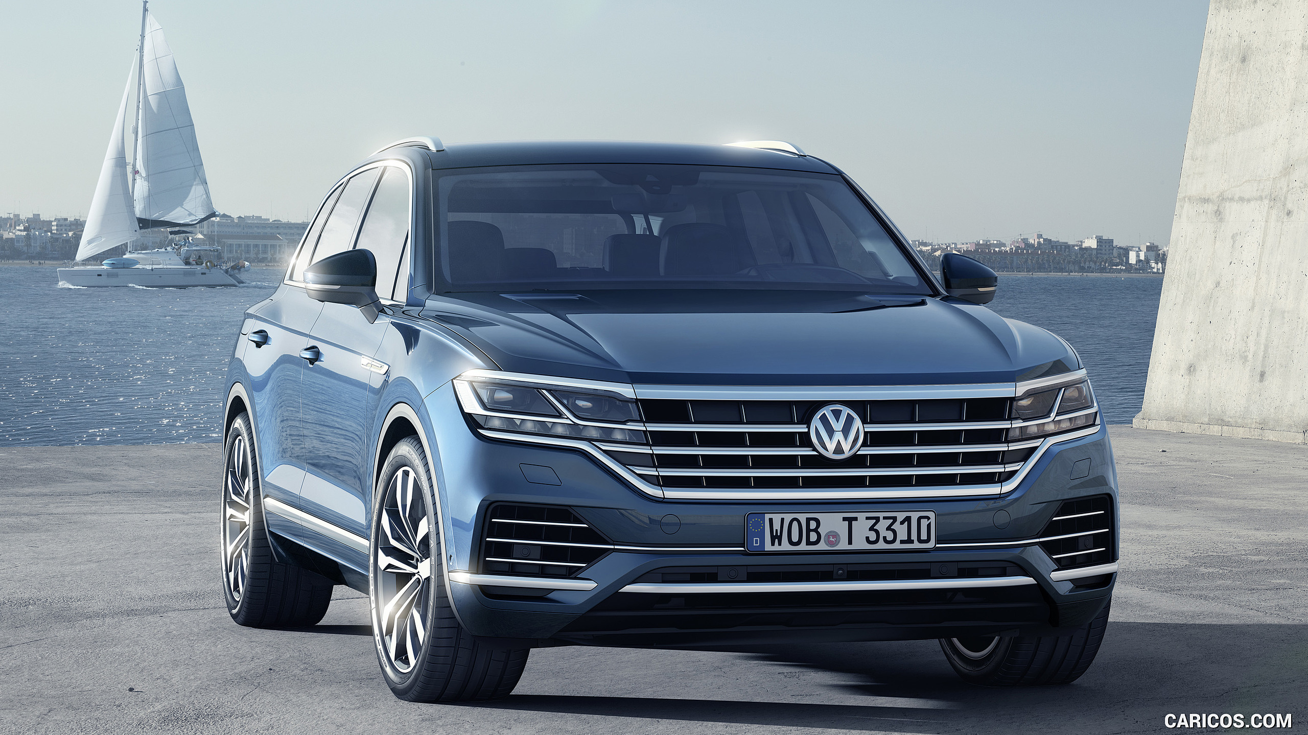 2019 Volkswagen Touareg   Front HD Wallpaper 16 2560x1440