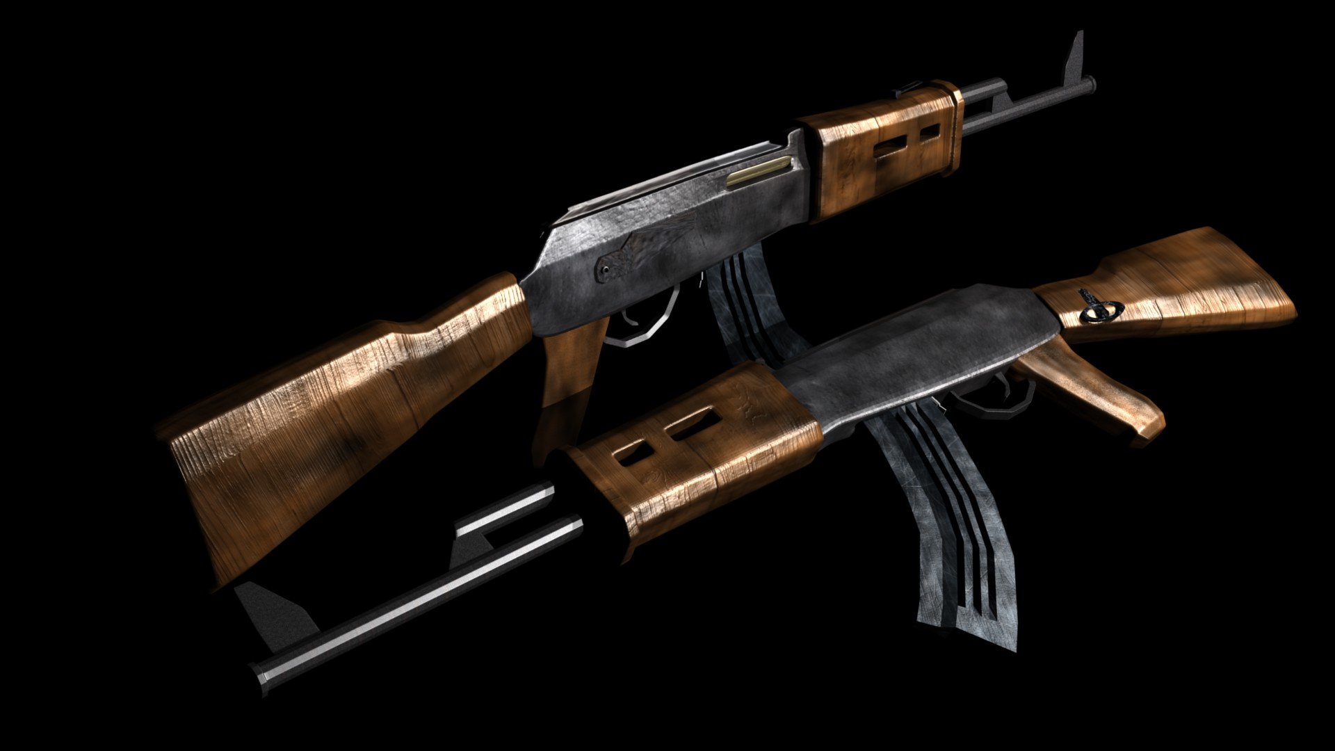 AK 47 guns wallpapers 1920x1080