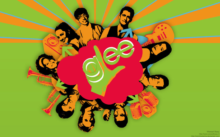Awesome Glee wallpaper Its now my desktop background 900x563