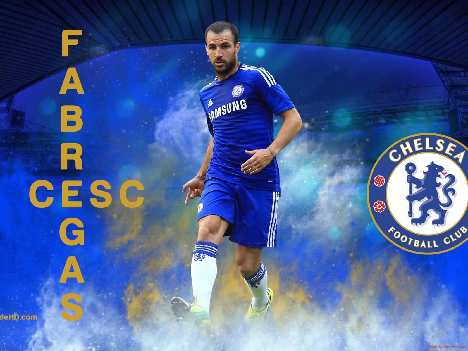 HD Chelsea FC Wallpaper Download Cesc Fabregas Wallpaper 1600x1200