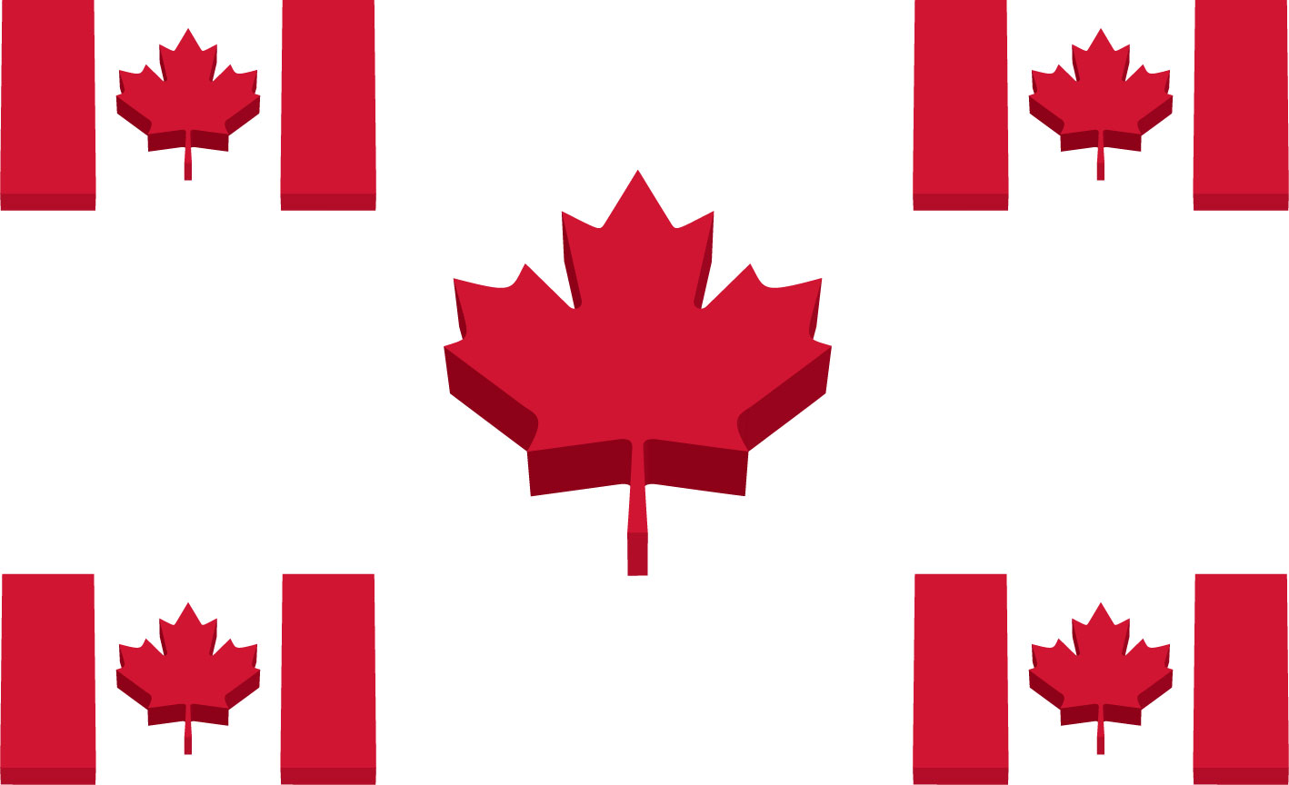 Canada Flag Pictures 1418x864