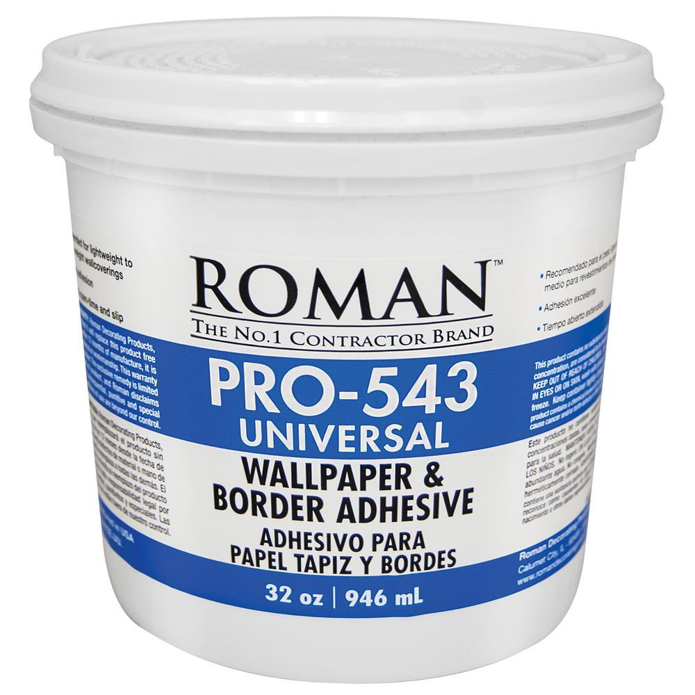 Roman PRO 543 1 qt Universal Wallpaper Adhesive 209902   The Home 1000x1000