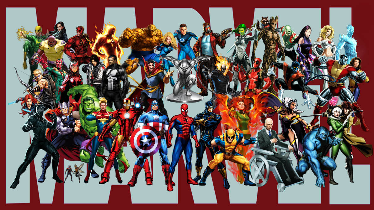 Marvel Super Heroes   Wallpaper by StingerTheOverLord 1192x670