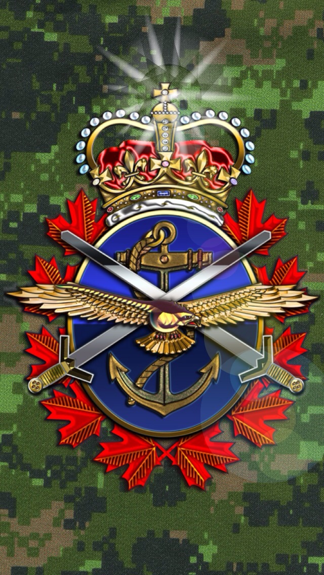 Canadian Armed Forces iPhone Wallpaper by CanadianPeaceMaker on 640x1136