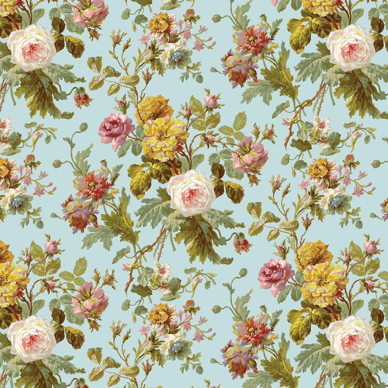 Download Vintage Floral Wallpaper Pattern Cool Hd Wallpapers