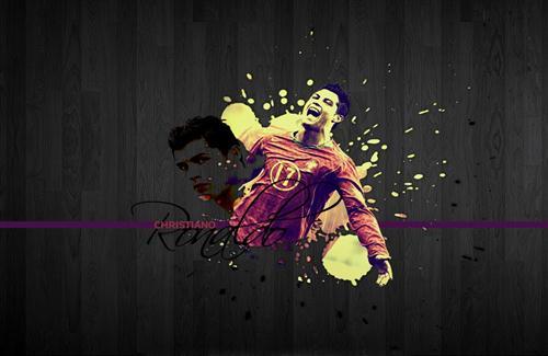 Cristiano Ronaldo Portugal Team Footballer HD Background 500x325