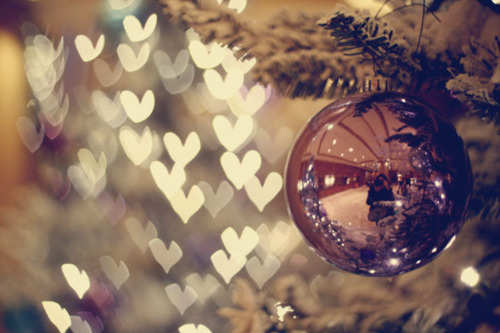 beautiful christmas cute fashion gold heart hearts light love 500x333