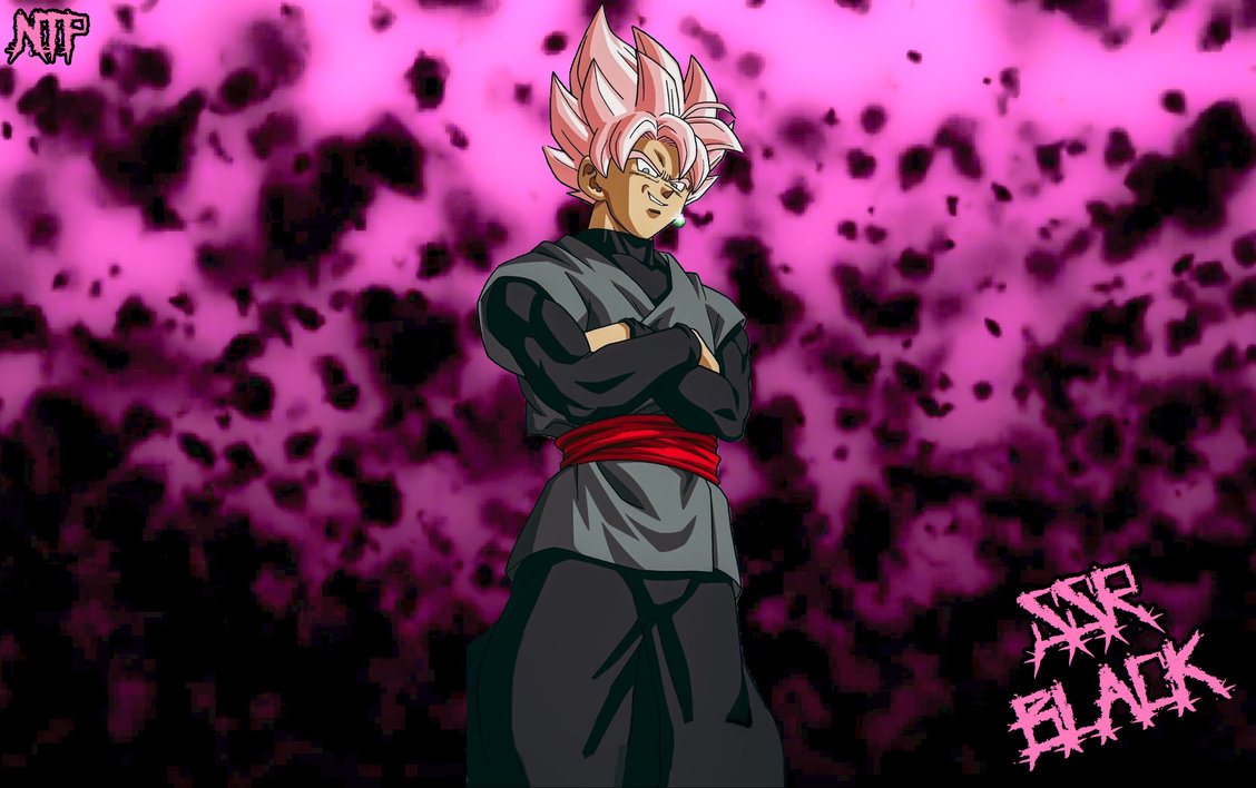 Free Download Super Saiyan Rose Black Goku Wallpaper By