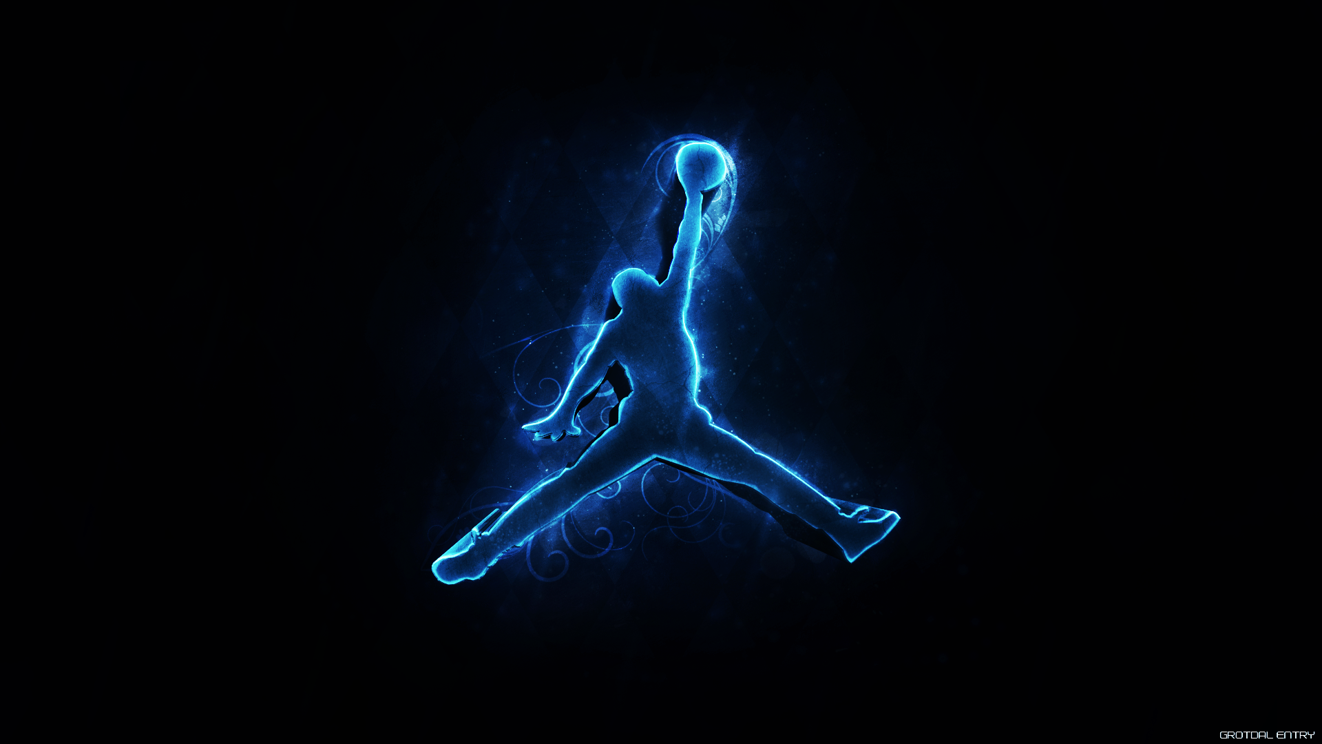 Air Jordan Logo Wallpaper Hd