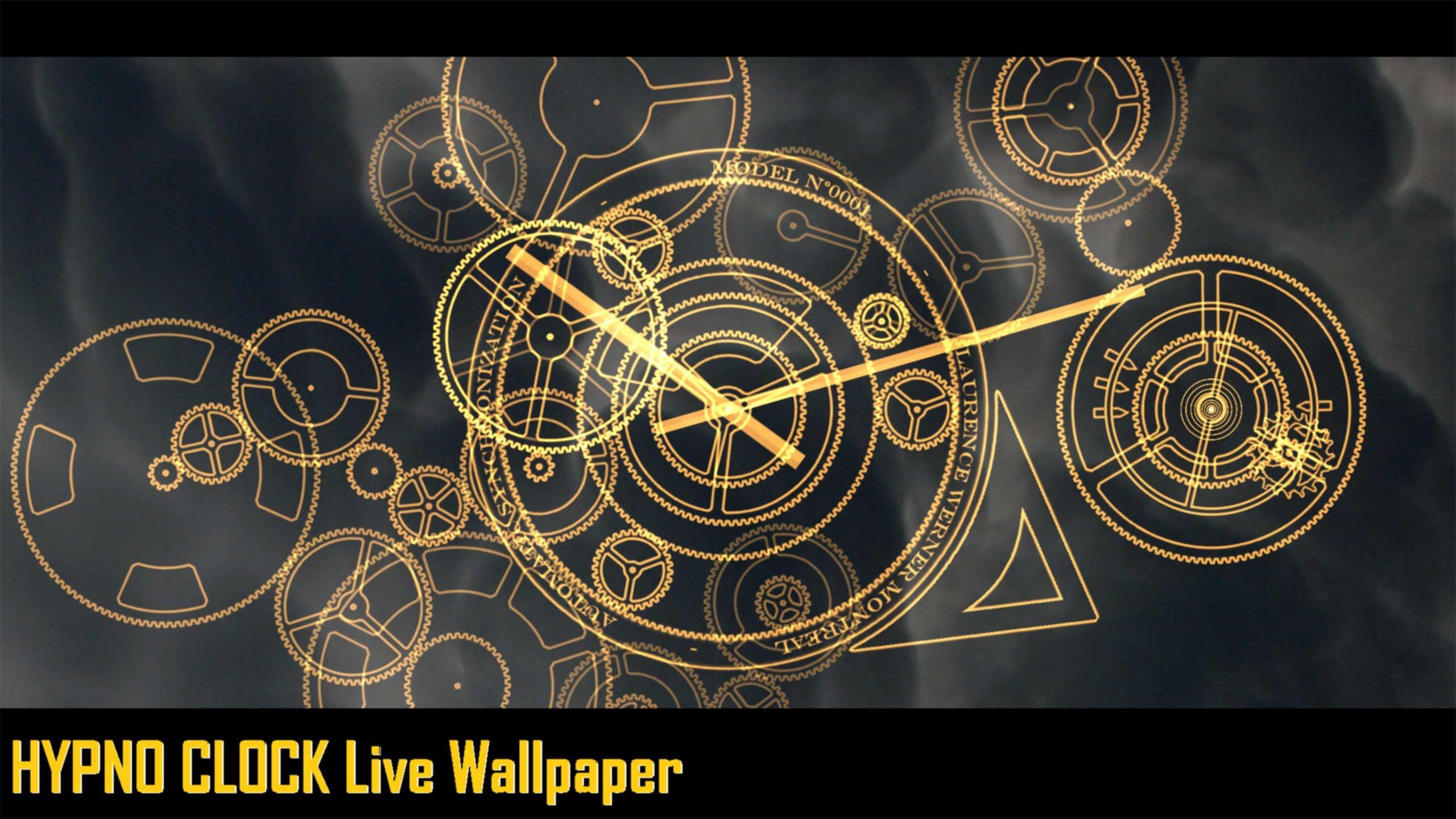 Clock Wallpaper for iPhone