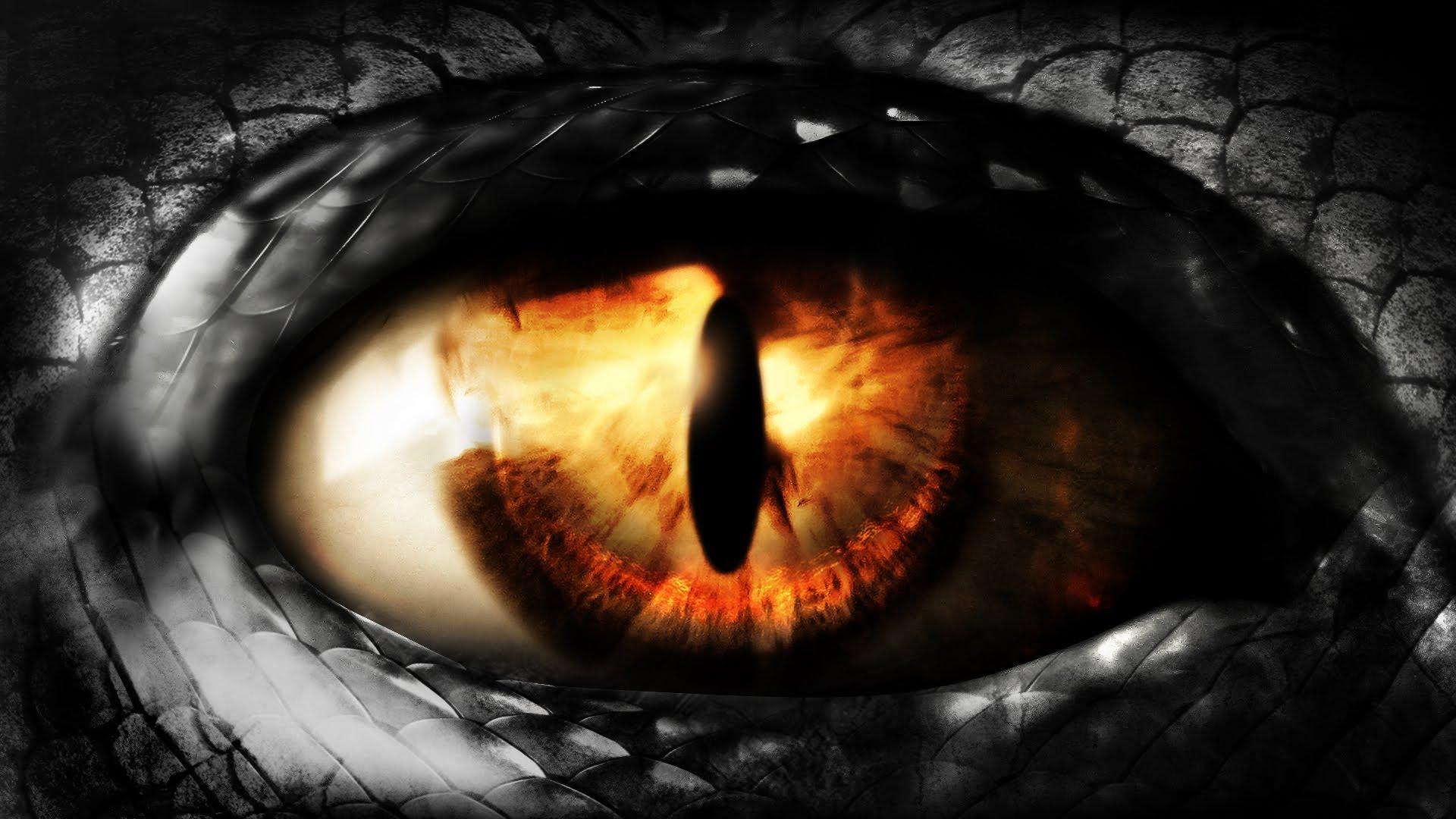 Dragon eye Animated SpeedART   t1na 1920x1080
