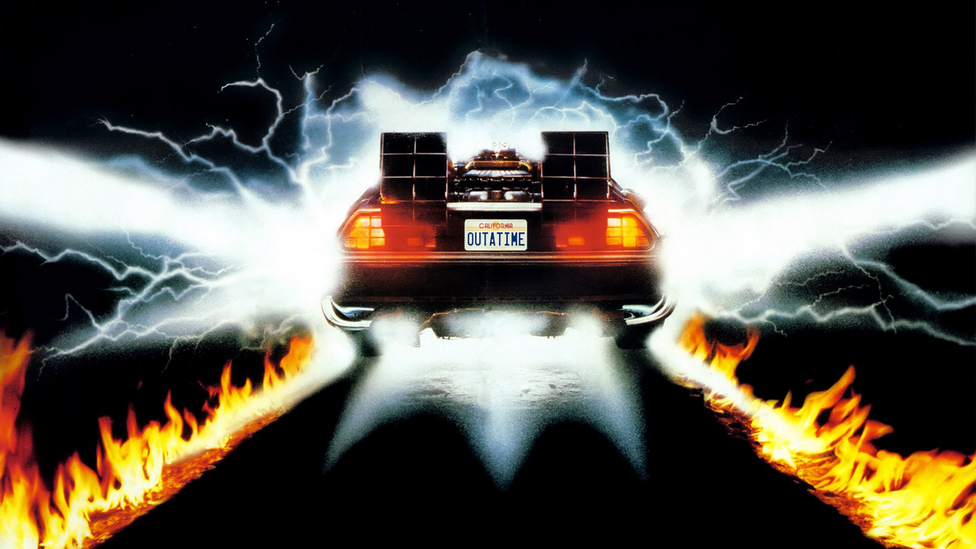 Back to the Future desktop wallpaper 1920x1080