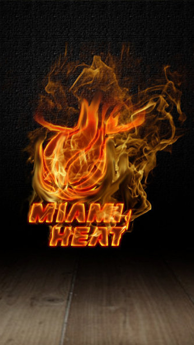 Download NBA Miami Heat HD iPhone 5 Wallpapers HD Wallpapers 640x1136