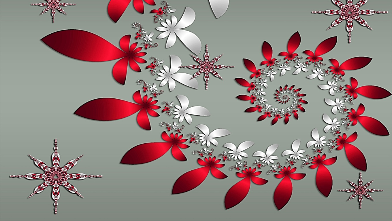 christmast wallpaper christmas desktop wallpapers 1360x768